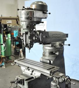 Bridgeport 9 x 32 milling machine