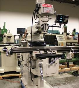 Turnpro 10 x 40 milling machine