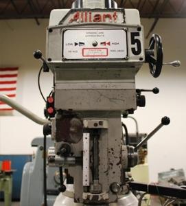 Alliant 9 x 32 milling machine