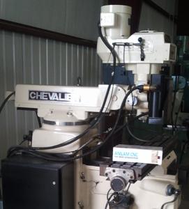 Chevalier 9 x 32 milling machine