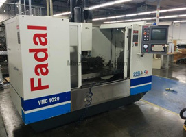 Fadal 4020 CNC Vertical Machining Center ATC